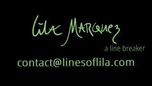 LINES OF LILA BUSINESS CARD for WordPress