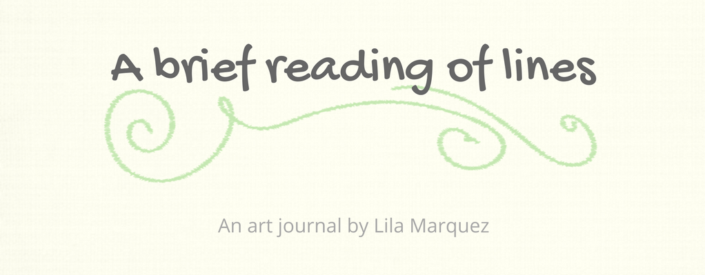 Lines of Lila Art Journal: A brief reading of lines